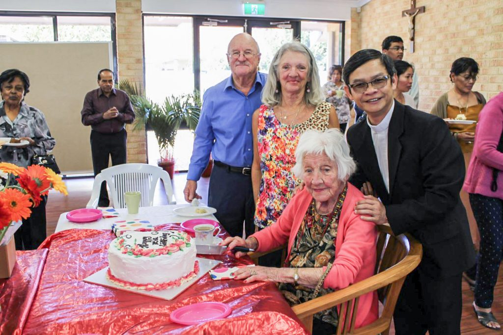 For the past two years, Fr Quynh has led the celebrations at Cloverdale parish. Photo: Sunil Rodrigues.