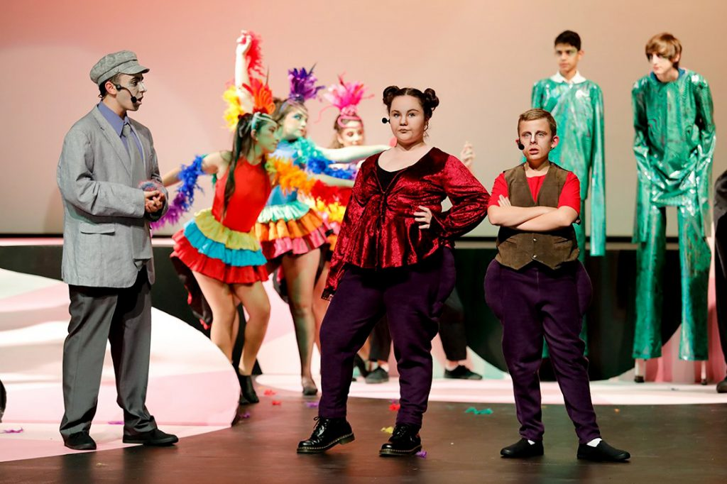 Seussical, a production of Chisholm College was inspired by the works of Dr Seuss. The musical was held from 8 to 11 May at the college grounds. Photo: Chisholm College.