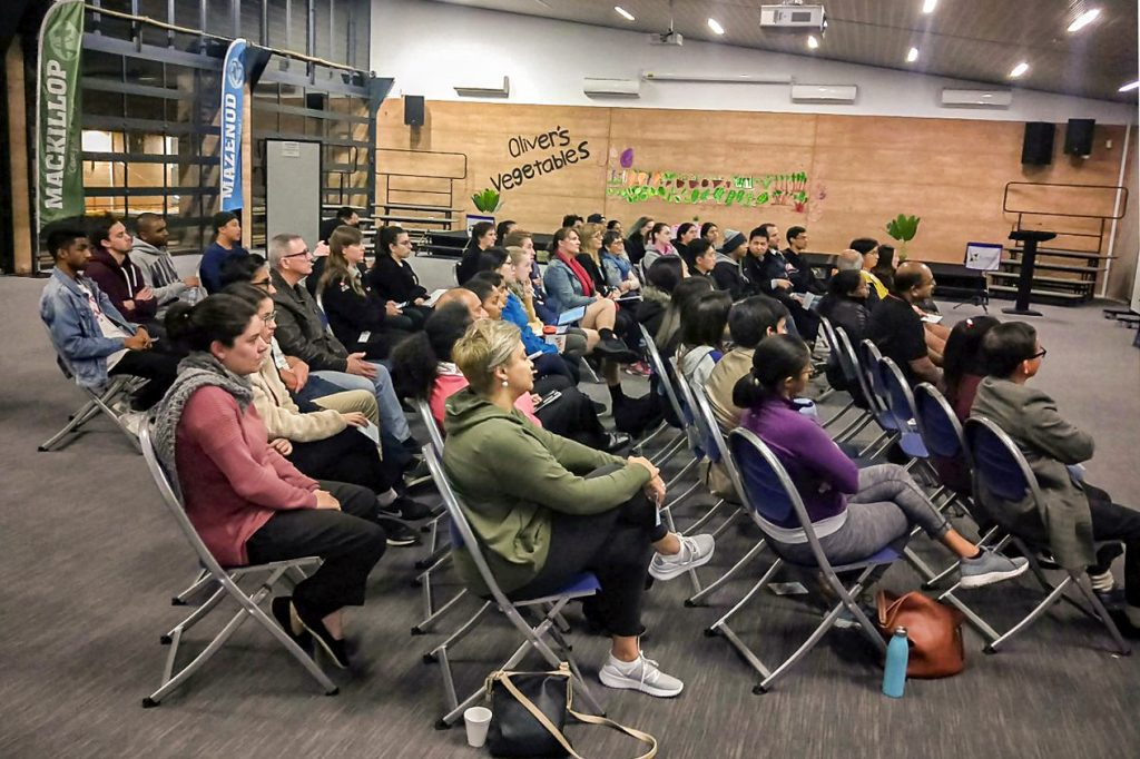 A good turnout for the ACYF19 information evening at St Emilie De Vialar Church, Canning Vale Parish on 21 May. Photo: CYM Perth.