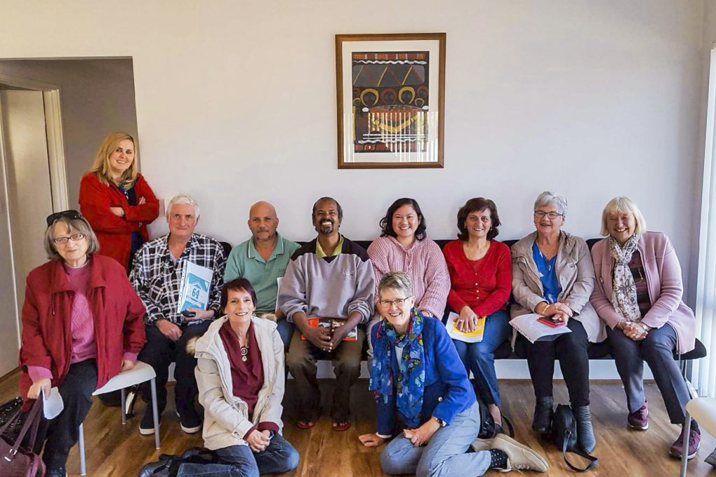 """Some of the participants for the Retreat in Daily Life themed """"Inner Peace in Divine Love"""", held over four weekends from 29 April to 26 May at the Baldivis Parish grounds. Photo: Chris Gardner."""