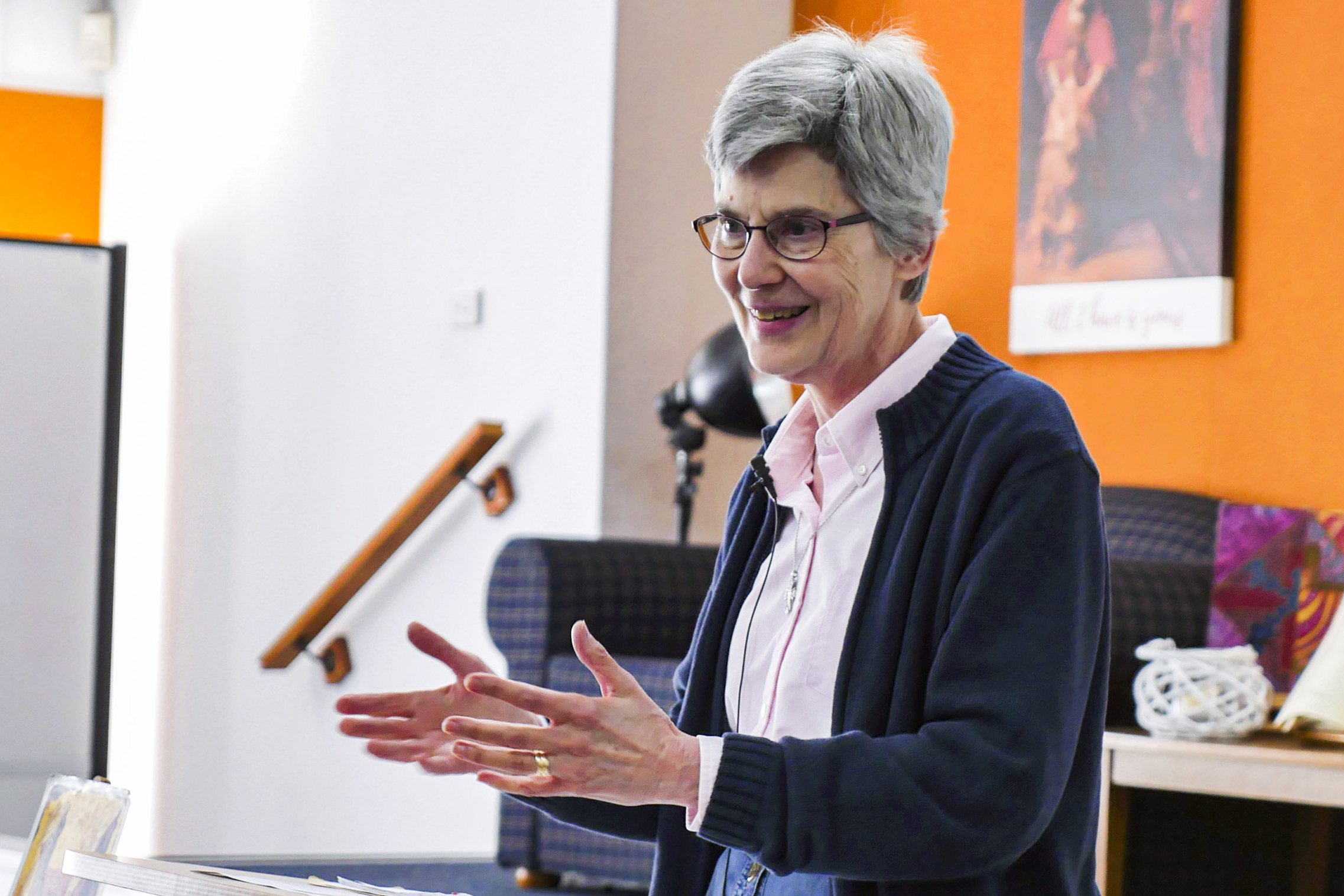 Dr Bonnie Thurston, from Western Virginia in the United States of America, was ordained by the Episcopal Church in 1984 and has served as co-pastor, pastor, or interim of five churches and twice in overseas ministry. Photo: Archives.