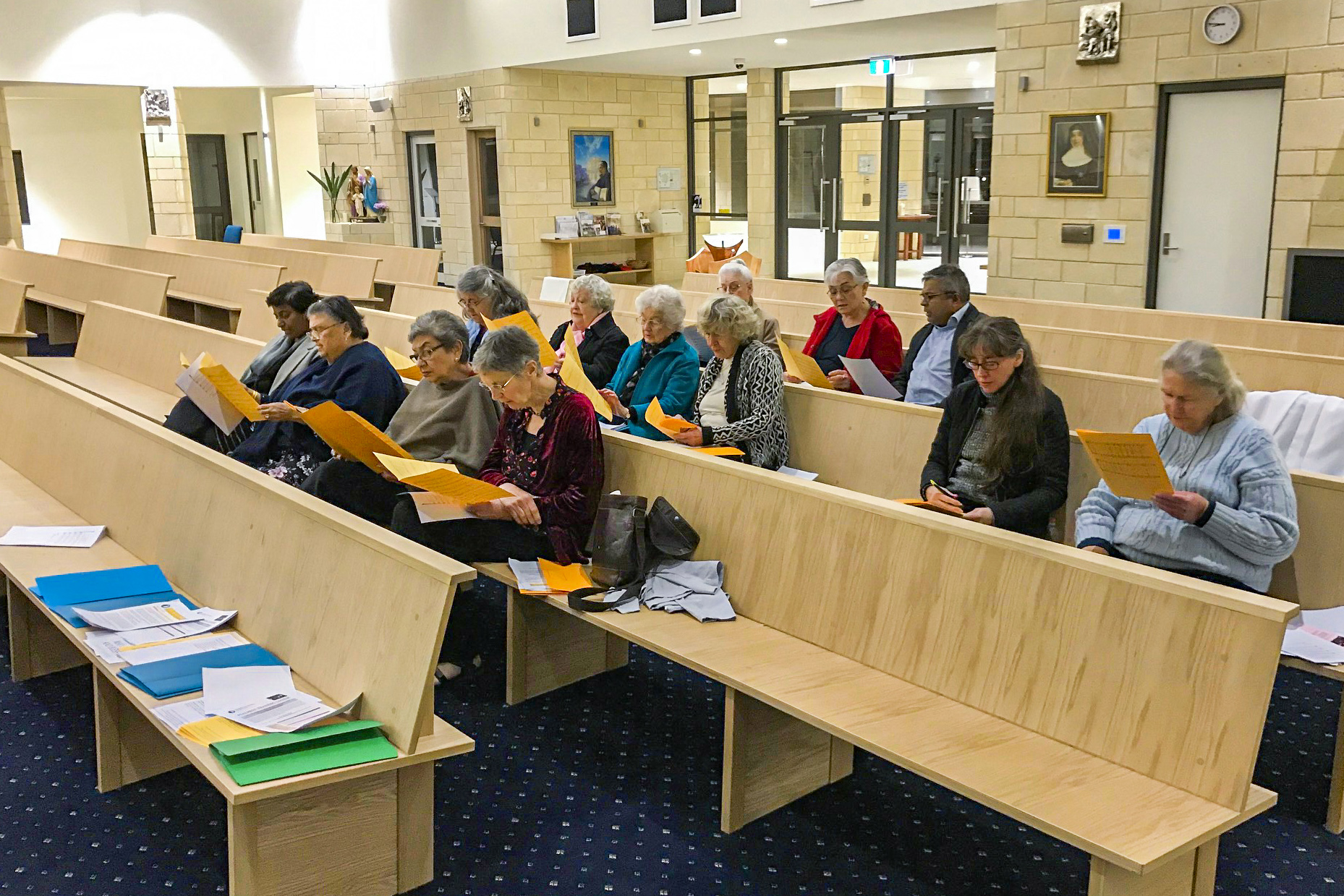 The workshops, Psalmist Training Course and Reading Music Course will run separately across four weeks and are open to parishioners of all ages, costing $40 per person. Photo: Supplied.