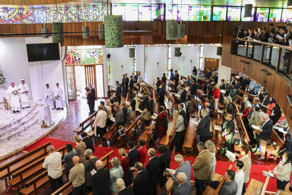The renovations, which began in August 2018, have doubled the maximum capacity of the Chapel, ensuring enough space for future graduation celebrations of Aquinas College. Photo: Supplied.
