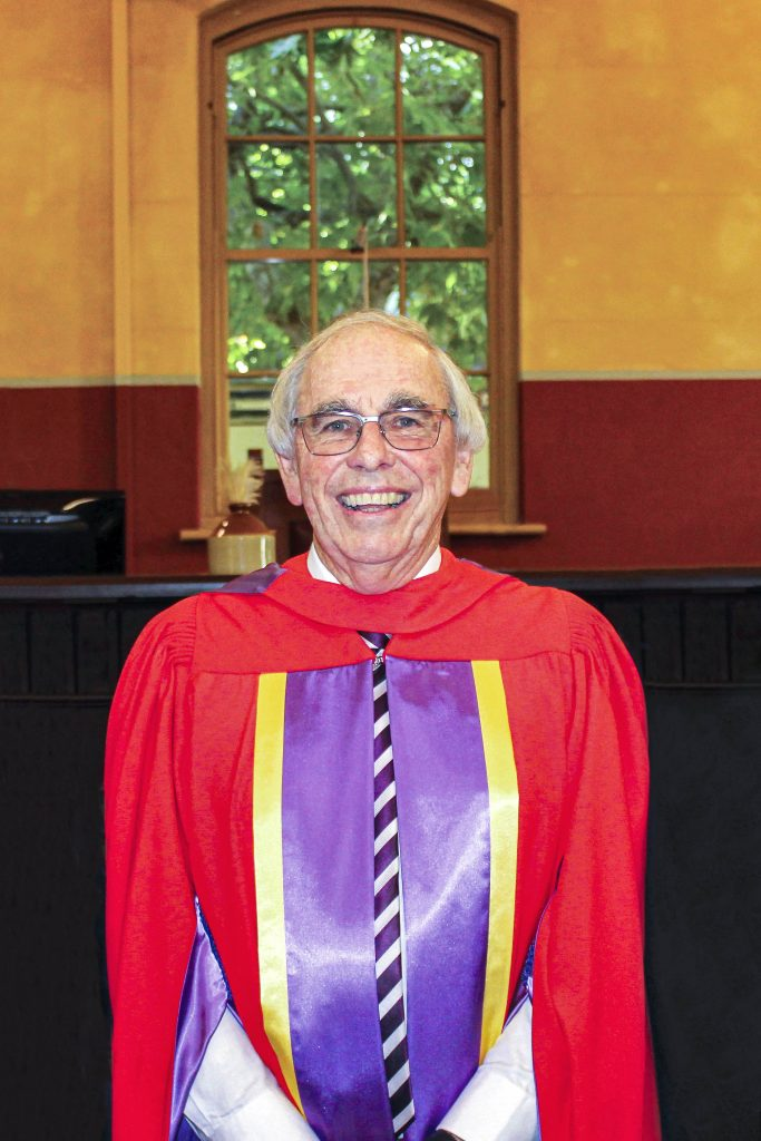The Honourable Justice Neville Owen is one of some 1000 Australians to be recognised on the Queen's Birthday Honours list for 2019. Photo: Supplied.