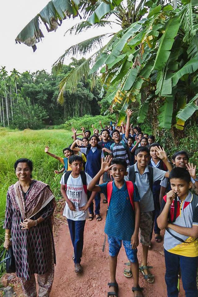 Visiting Jesuit Priest Fr Rajesh Punchathalackal began an initiative in his hometown in Kerala called the Sahajeevanam Picnic Program. Photo: Sourced.
