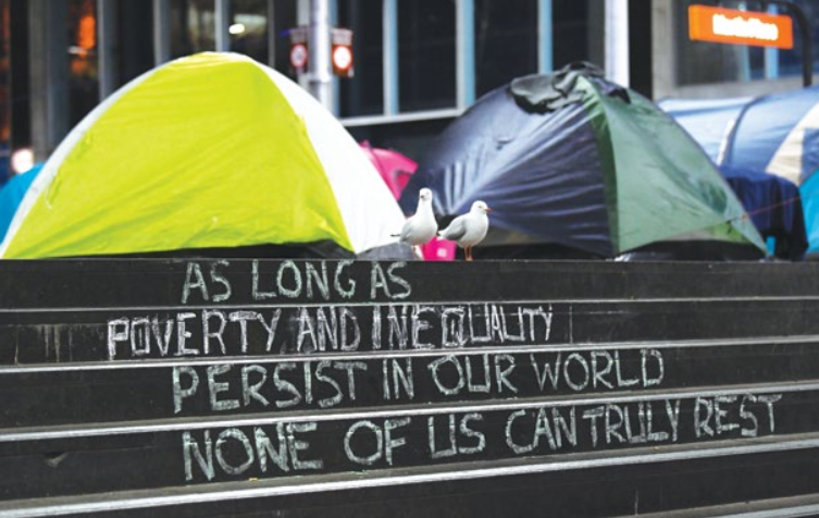 Poverty and inequality are a global phenomenon, even in developed nations such as Australia. Photo: Supplied.