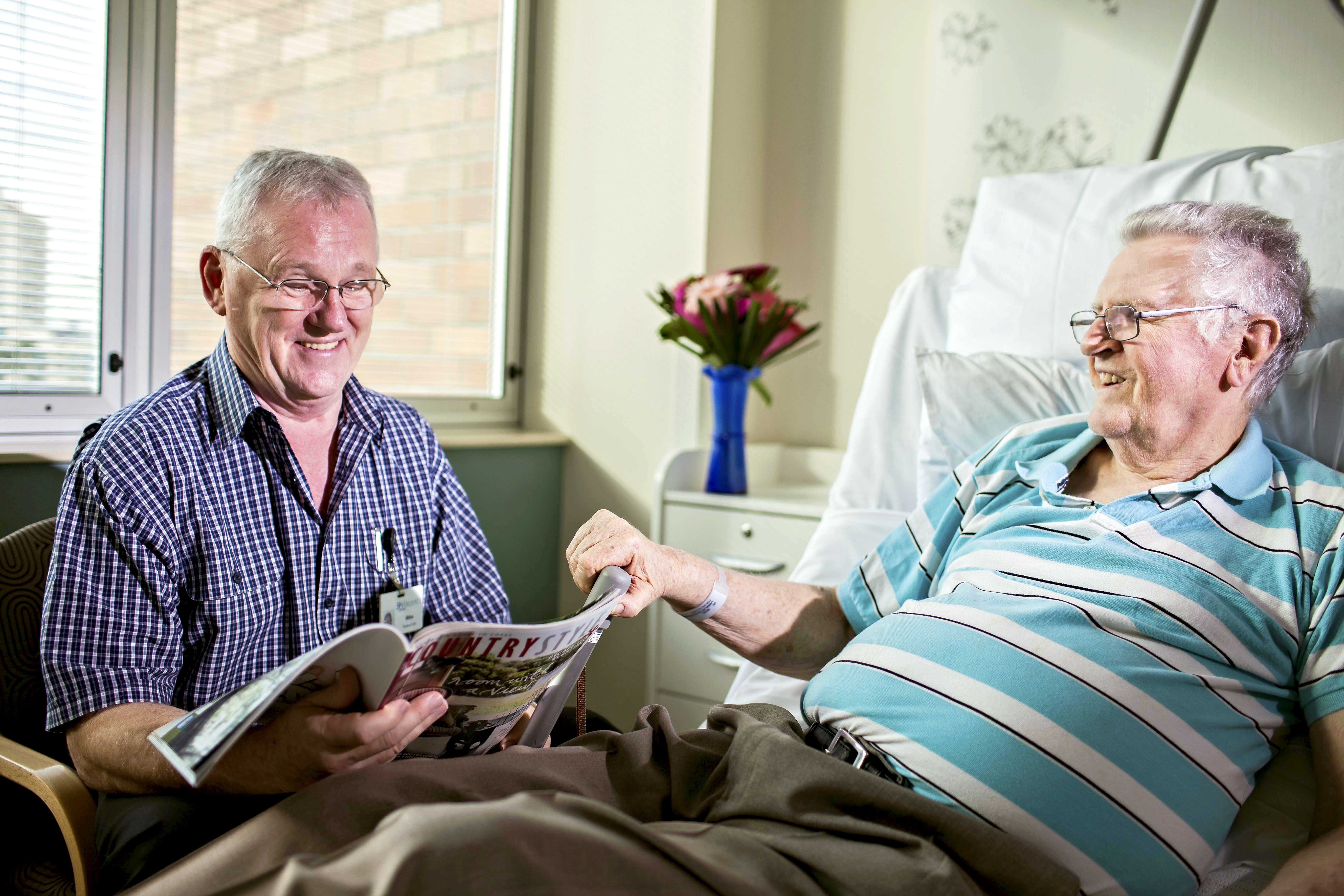 Palliative Care WA has estimated a $100 million funding shortfall in state funding despite the $41 million funding boost from the McGowan Government. Photo: Supplied.
