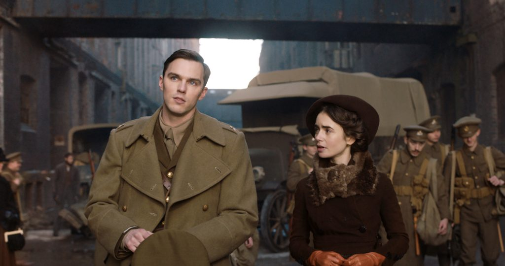 "Nicholas Hoult and Lily Collins star in a scene from the movie ""Tolkien"". Photo: Fox Searchlight/CNS."