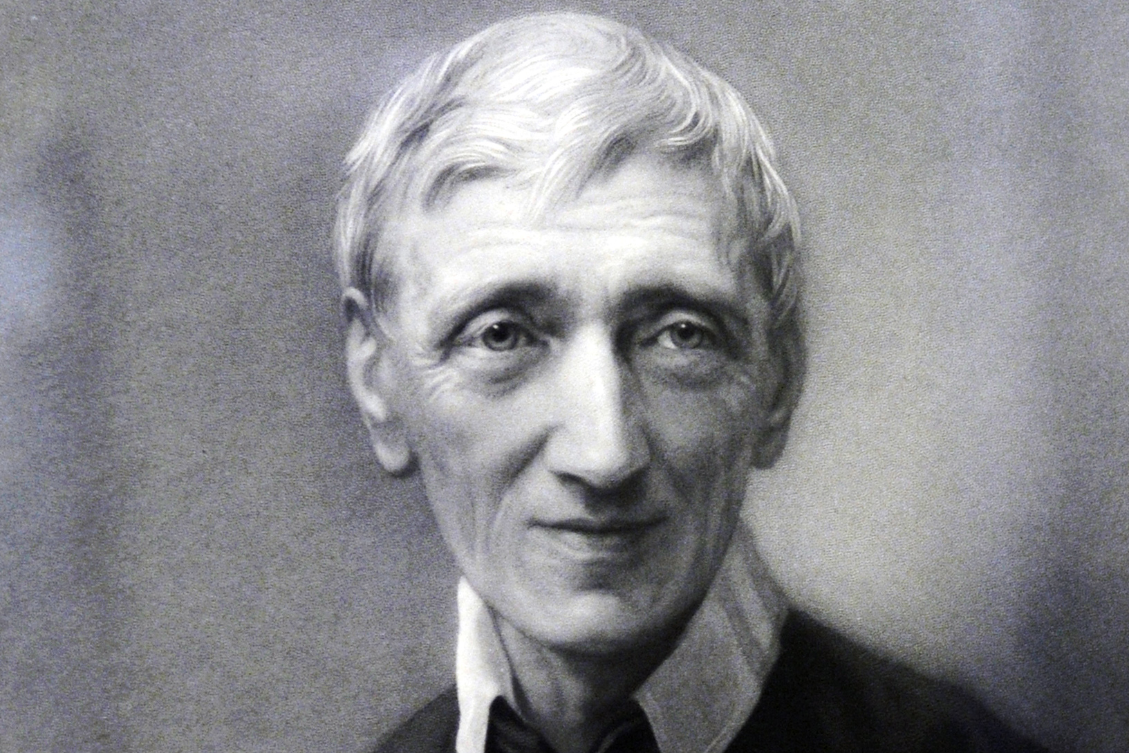 Blessed John Henry Newman is seen in a portrait provided by the Catholic Church in England and Wales. Photo: Catholic News Service.