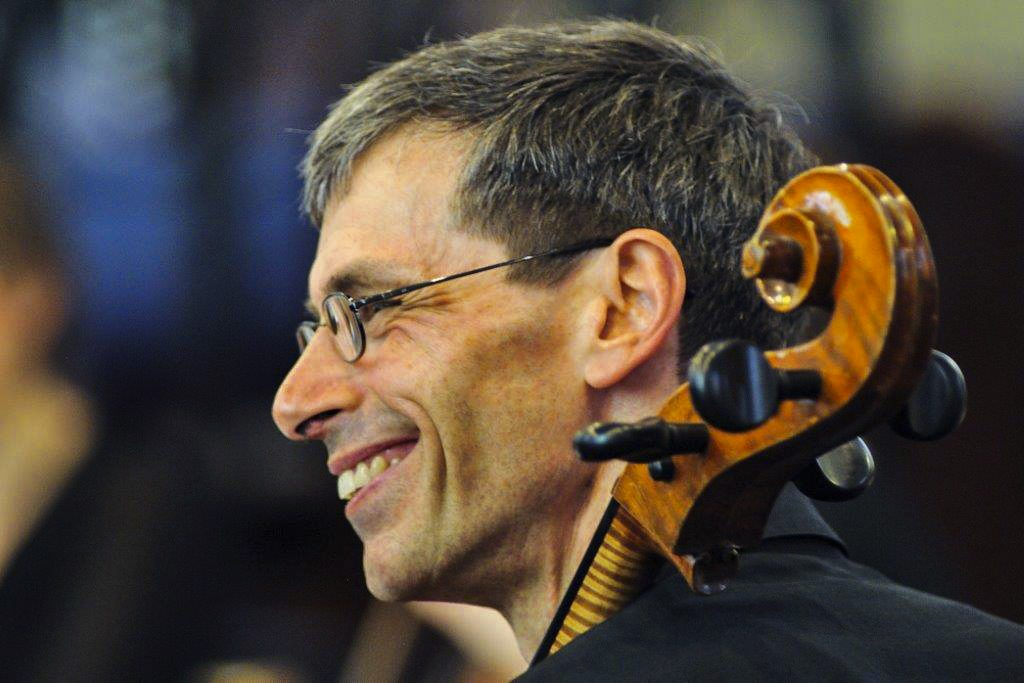 Cellist and director of FCO Mr Hans Hug. Photo: Supplied.