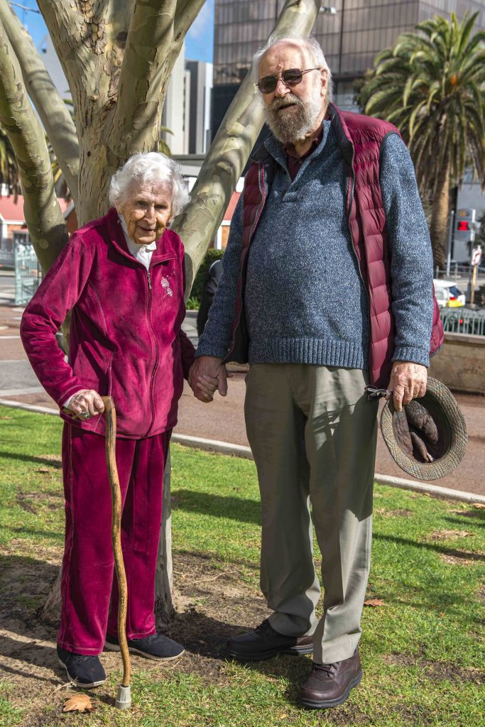 Peter and Veronica Dymond reflect back on their 60 years of marriage. Photo: Amanda Murthy.