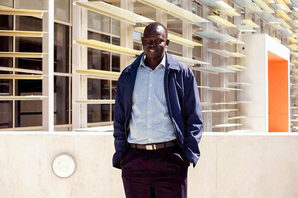 Philip Lako is a former child recruit of the South Sudan People's Liberation Army. Photo: Caroline Smith.