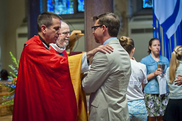 Fr. Collins' research and teaching are in the areas of Systematic Theology and Spirituality. Photo: St Louis Review.