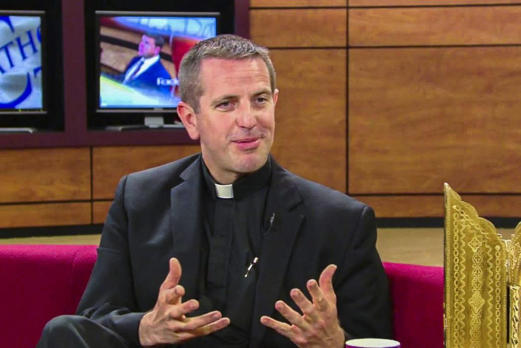 Fr. Collins received a BA in Philosophy from the University of St. Thomas in St. Paul, Minnesota; Master of Arts in Early Modern European History from Saint Louis University. Photo: St Louis Review.