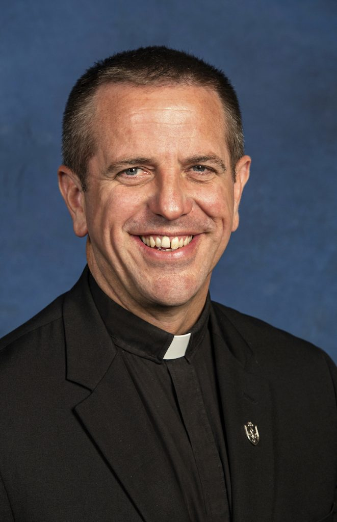 Fr. Christopher Collins SJ is the Assistant to the President for Mission and Identity at Saint Louis University. Photo: St Louis Review.
