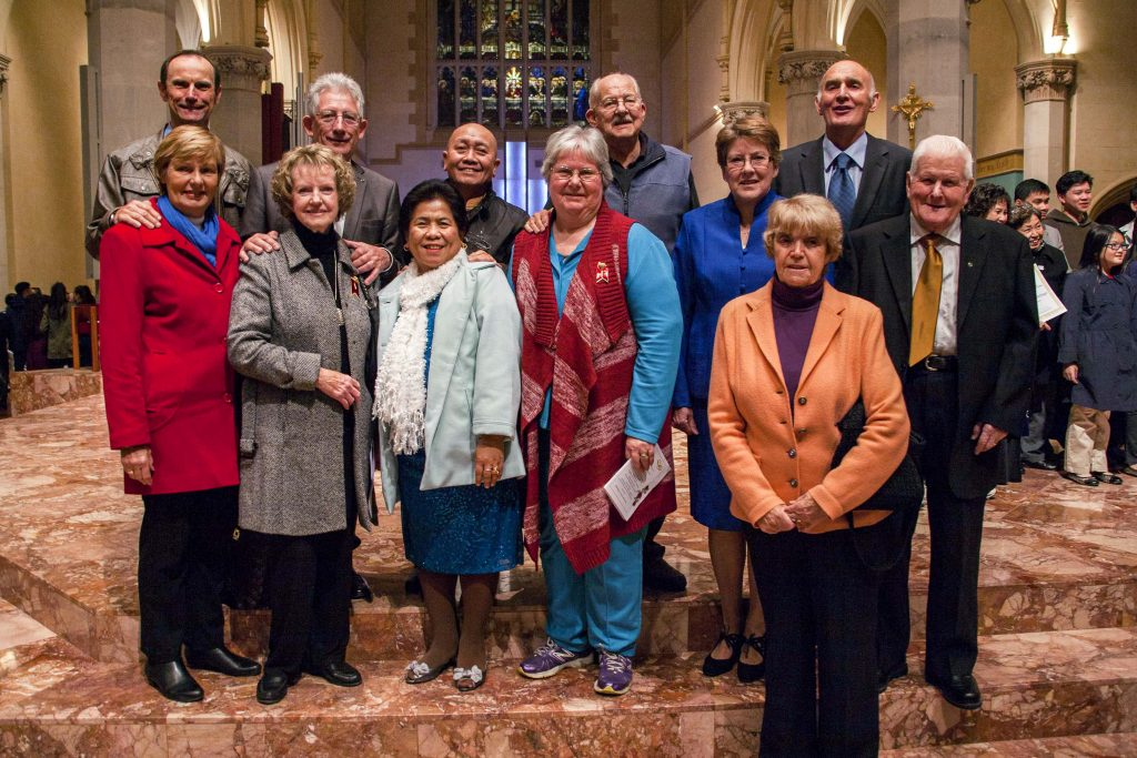 Married couples celebrating a significant milestone are being invited to renew their vows and celebrate their vocation at the 2019 Annual Marriage Day Mass. Photo: Jamie O'Brien.