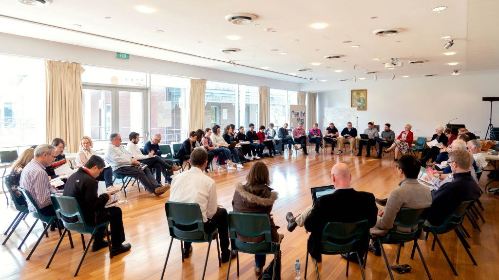 National Coordinators for the Plenary Council 2020 came together in May to discuss the next phase of the process, Listening and Discernment. Photo: Abbel Gaspi.
