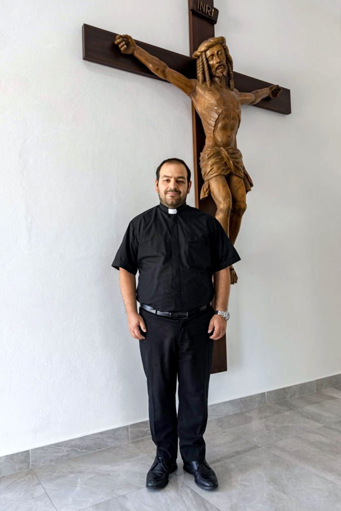 Rome boy Dcn Matteo Verdi will be Ordained to the Priesthood on Friday 16 August 2019. Photo: Ron Tan.