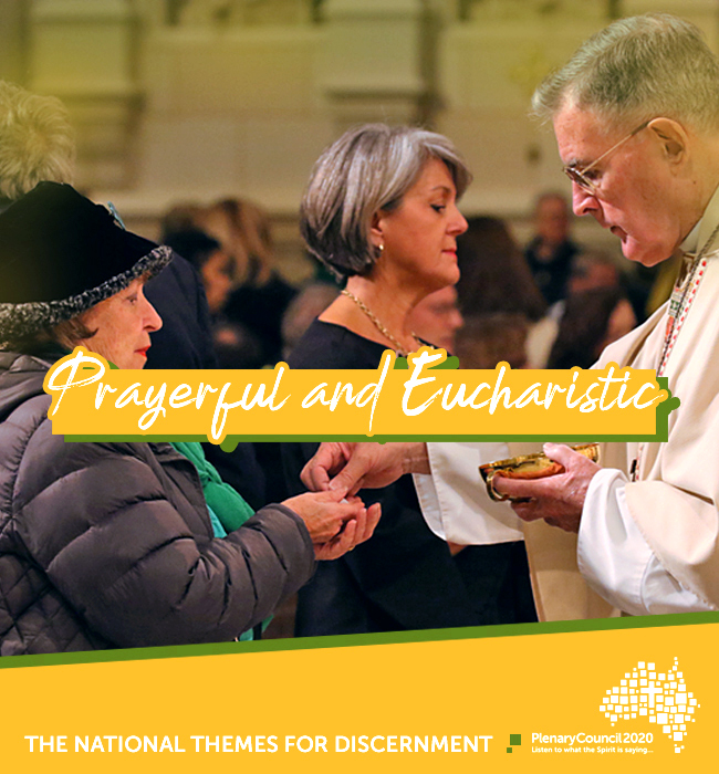 The third Snapshot Report for the themes of the 2020 Plenary Council, entitled Prayerful and Eucharistic, as part of the second phase, Listening and Discernment, was released on Saturday 29 June. Photo: Supplied.