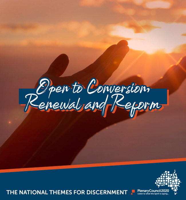 """The sixth Snapshot Report for the themes of the 2020 Plenary Council – titled """"Open to Conversion, Renewal and Reform – as part of the second phase, Listening and Discernment, was released on Saturday 29 June. Photo: Supplied."""