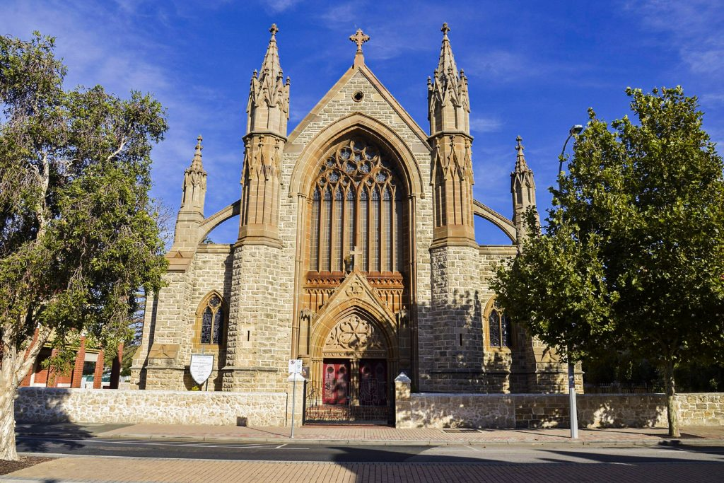 The Church of St Patrick's, Fremantle: one of only five Basilica's in Australia. Photo: Supplied.