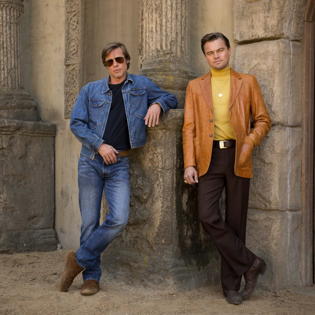 "Brad Pitt and Leonardo DiCaprio star in ""Once Upon a Time in Hollywood"". Photo: Sony/CNS."