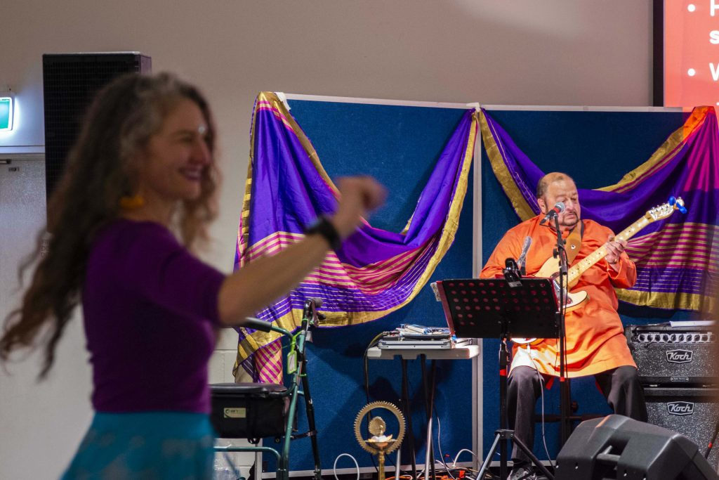 Two hundred people joined in a Bollywood themed fundraising event hosted by ACRATH on 10 August at Aranmore Catholic Primary School. Photo: Feby Plando.