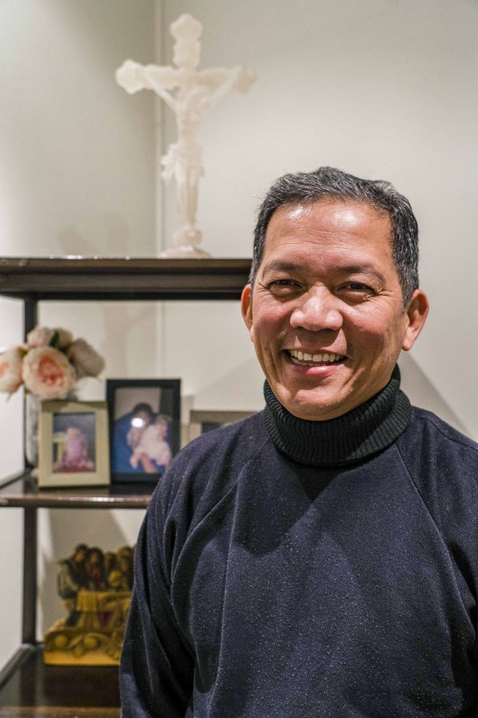Mr Kenneth Phua, host of Perth radio program Seeing Without Eyes is a vocal supporter of PSA and the Parish Inclusion Coordinator program. Photo: Supplied.