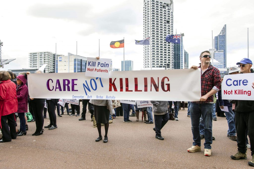 A focus on prevention and support through improving palliative care for all Western Australians was a crucial focus of the presentations. Photo: Eric Martin.