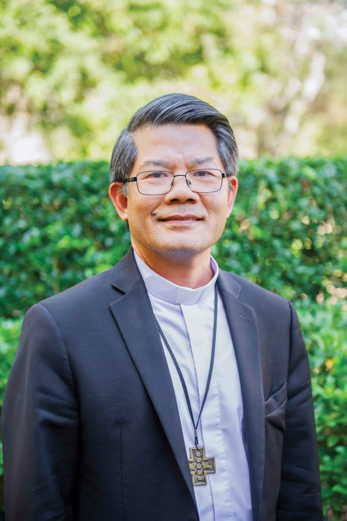 Bishop Vincent Long OFM Conv is scheduled to talk at the 2019 National Association of Deacons' (NAD) Biennial National conference about his experience and journey as a refugee from Vietnam on 3 October at the UNDA Fremantle campus. Photo: ACBC.