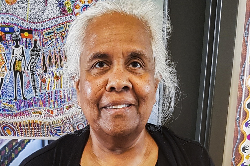 Donella Brown has stepped up as the sole Director of Aboriginal Catholic Ministry (ACM). Photo: Supplied.