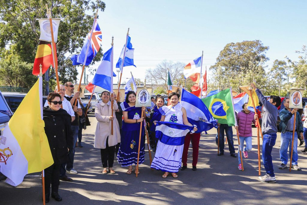 The annual festival was described as the biggest Hispanic Catholic event in New South Wales. Photo: Diocese of Parramatta.