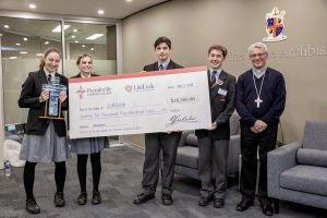 Prendiville Catholic College has last month made the single largest contribution by any Archdiocesan school to LifeLink Day since its inception in 1999. Photo: Ron Tan.