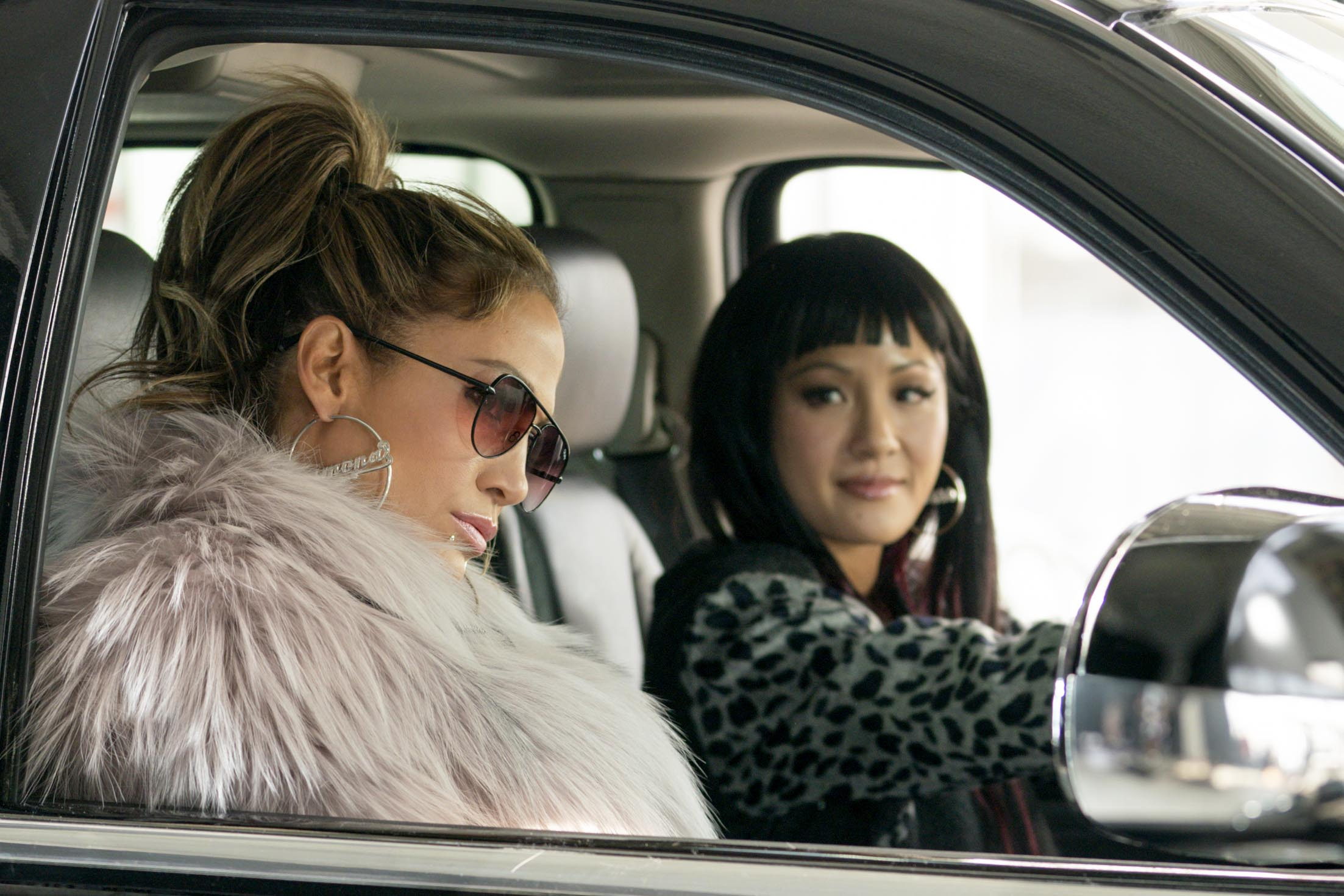 Jennifer Lopez and Constance Wu star in a scene from the movie