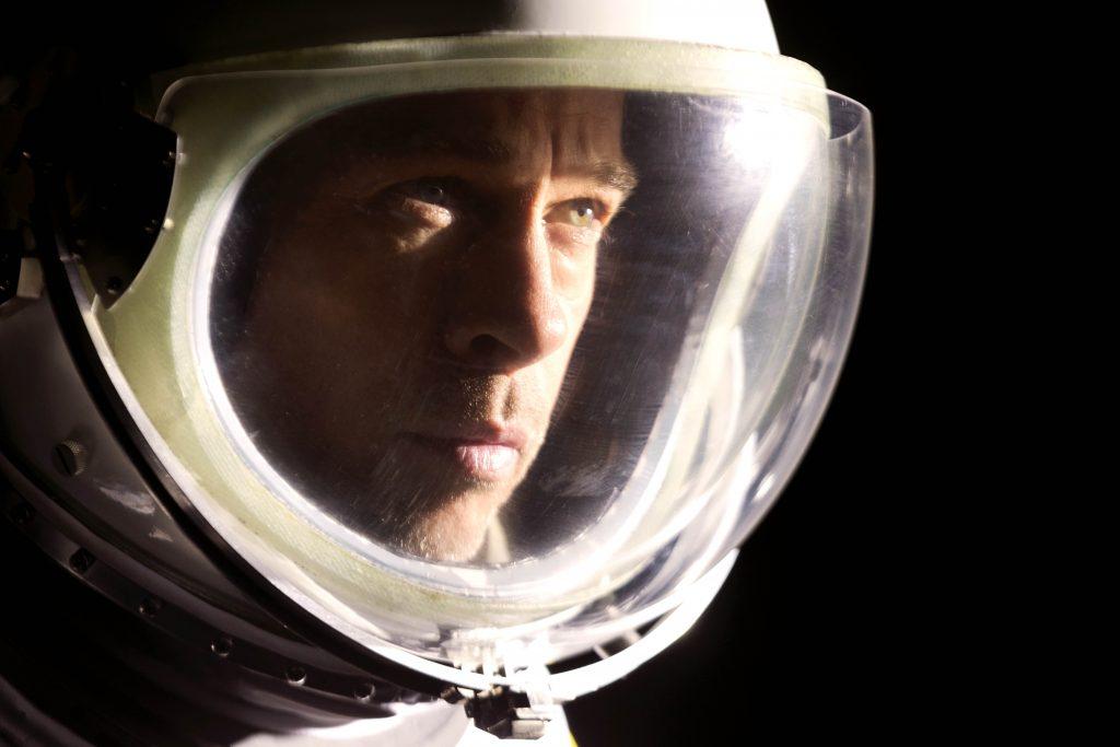 "Brad Pitt stars in a scene from the movie ""Ad Astra"". Photo: Fox/CNS."