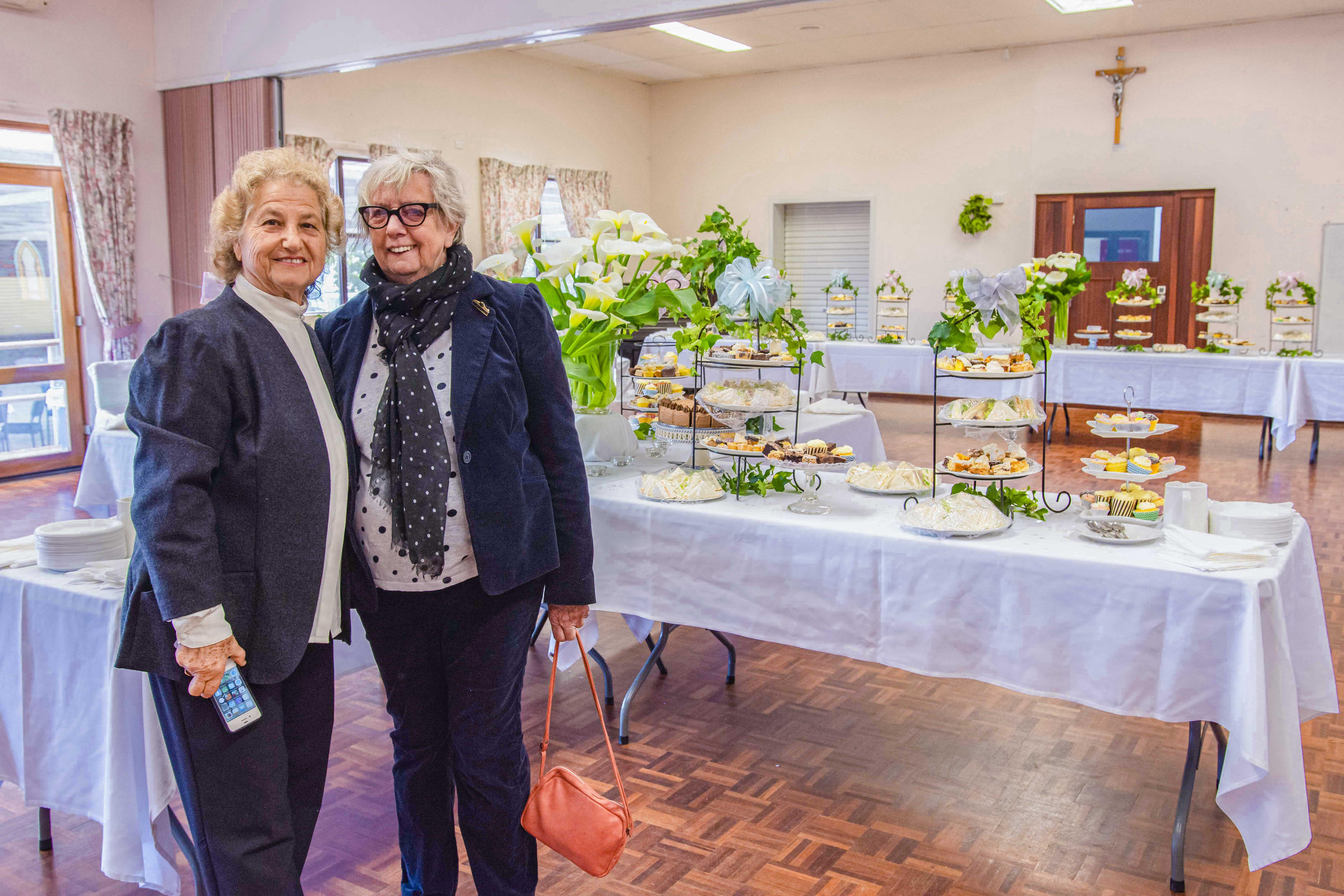 The Kalamunda parish hall has now been restored to its original size after the office extensions were made. Photo: Amanda Murthy.