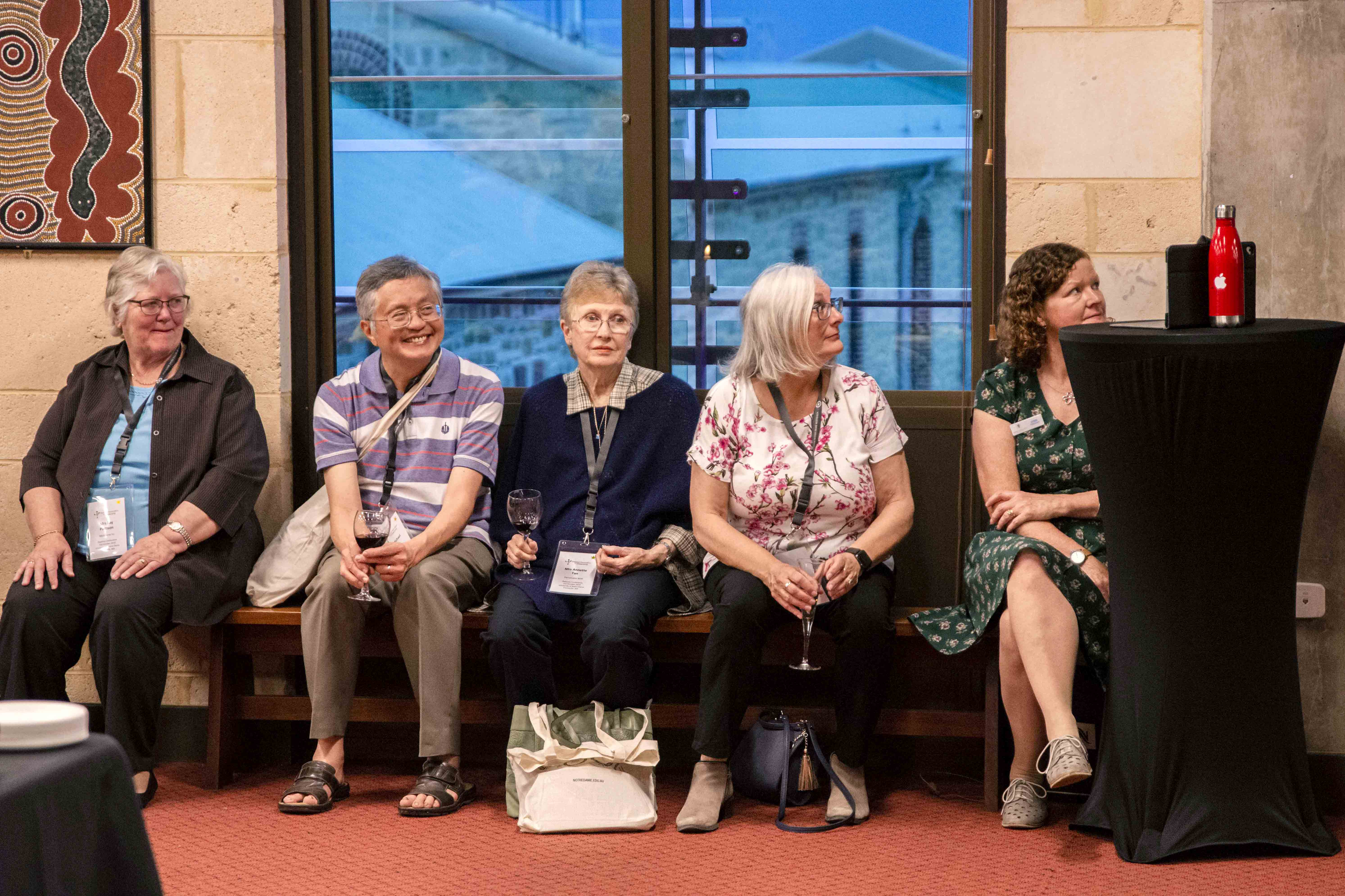 The wives of the Diaconate enjoy a time of personal development and sharing at the Deacons Conference 2019. Photo: Jamie O'Brien.