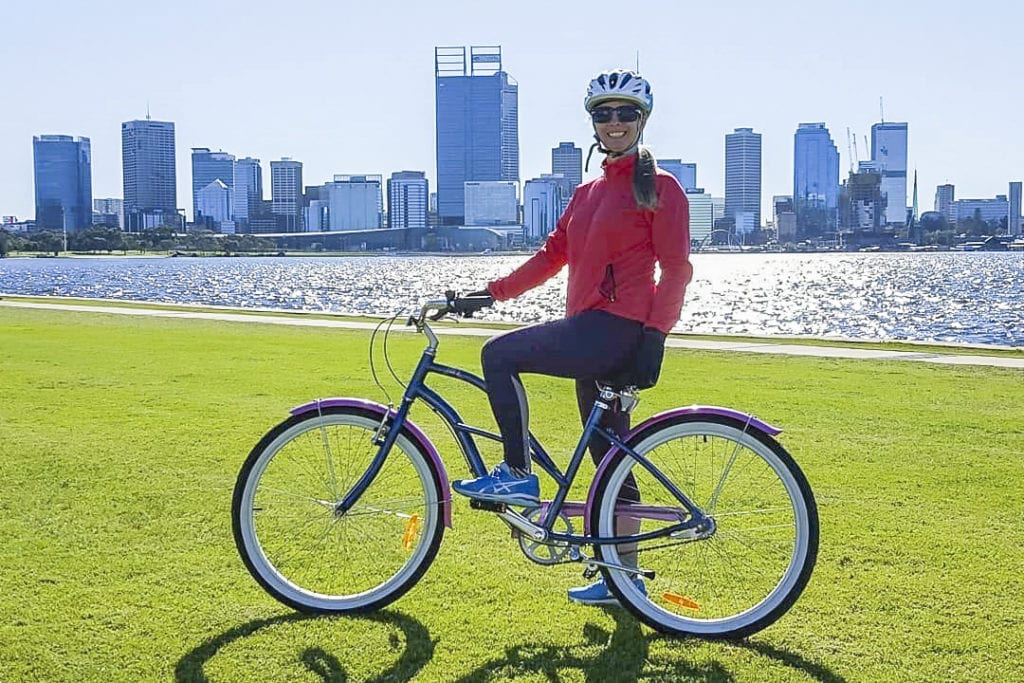 Mercy College Koondoola teacher to go on a Catholic Mission's trip to Cambodia, where she will do a 120-kilometres bike ride to visit Catholic Mission's projects. Photo: Supplied.