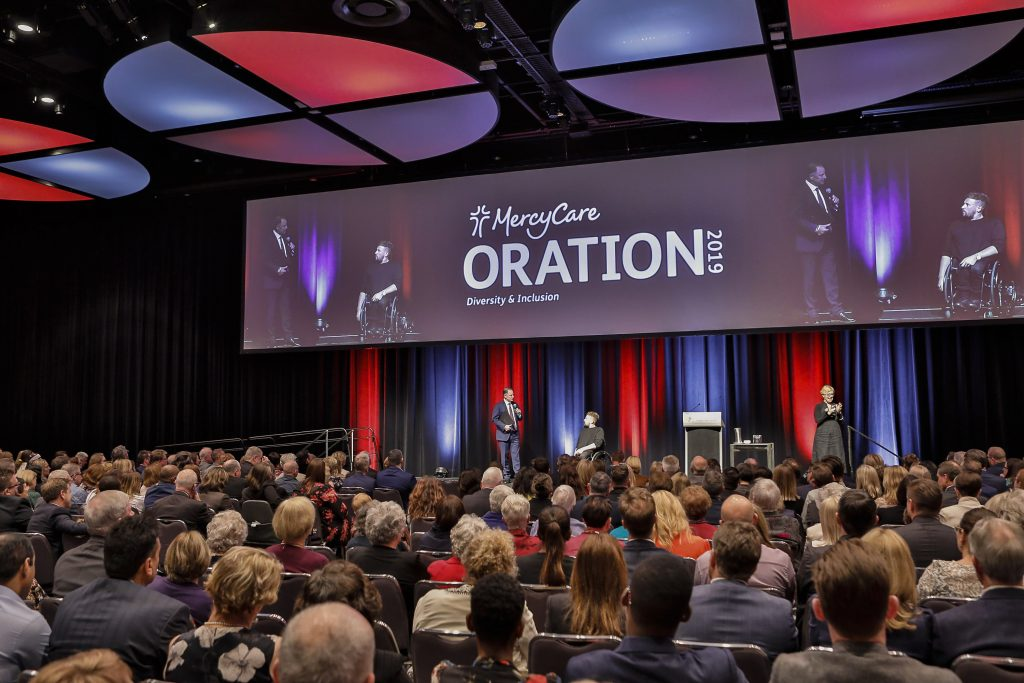 The theme for this year's MercyCare Oration 2019 held on 23 September was Diversity and Inclusion. Photo: MercyCare.