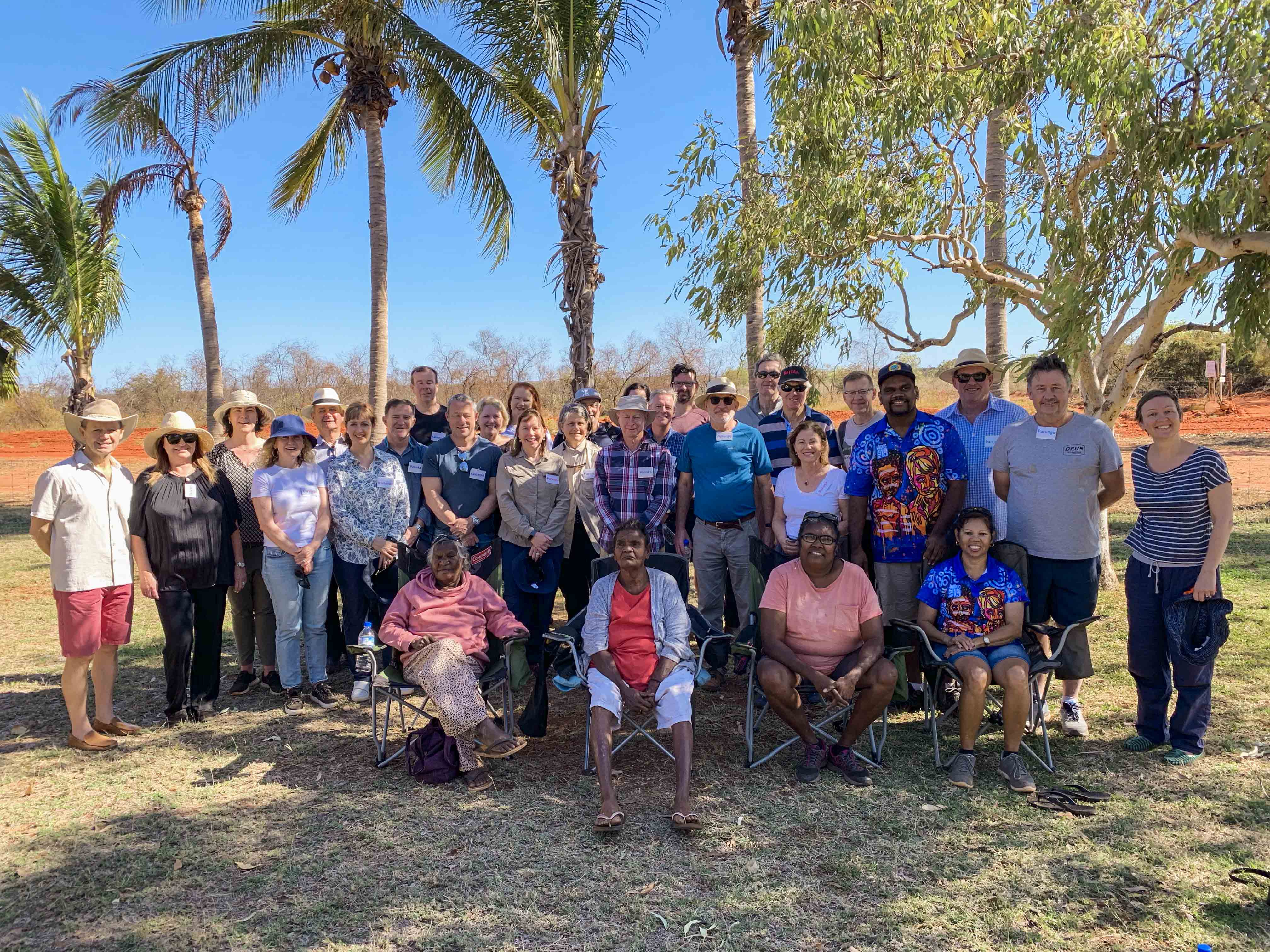 A three-day, cultural immersion program has taken senior judges from Western Australia's District and Supreme Courts into the heart of the Kimberley with an opportunity to meet with and hear directly about Aboriginal history, culture, language, country and family life. Photo: Supplied.