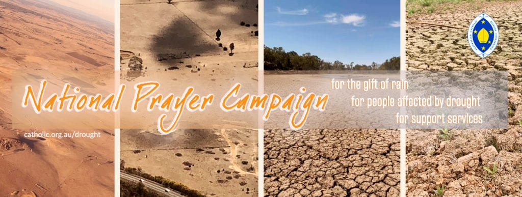 The Catholic Church in Australia is dedicating the month of November as a time to pray for those affected by crippling drought conditions and to pray for the gift of rain. Image: Sourced.